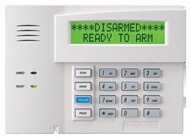 Honeywell 6160 keypad for Vista 20P control panel