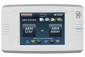 GE Interlogix Concord 4 color touchscreen