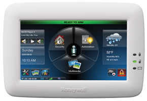Honeywell Tuxedo Touch home automation keypad