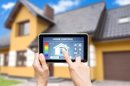 remote home automation control via tablet