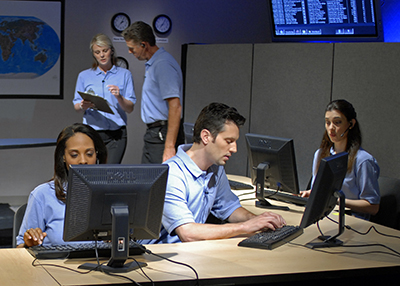 commercial burglar alarm monitoring center