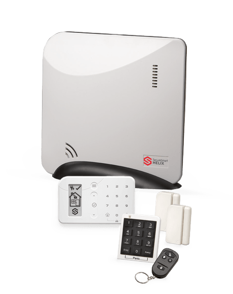 Helix security system for apartments
